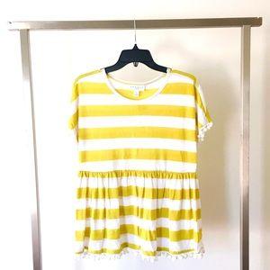 Tops - 🆕 Yellow Stripe Tee